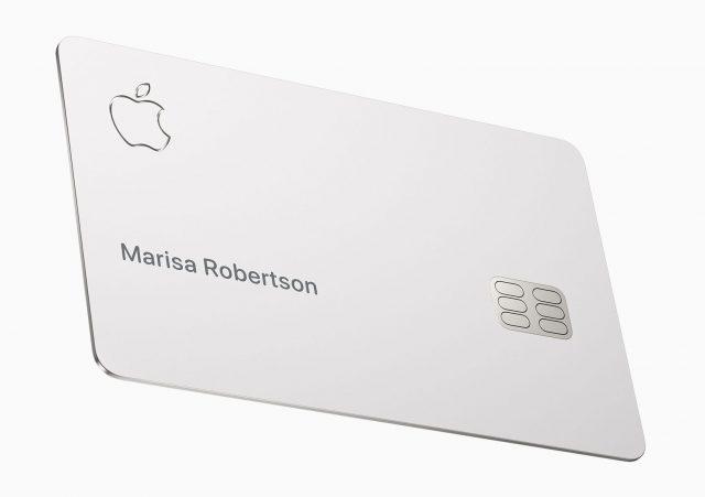 The physical Apple Card