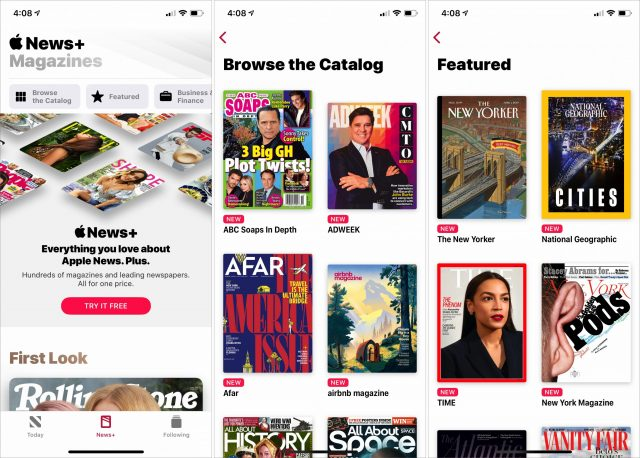 A look at Apple News+