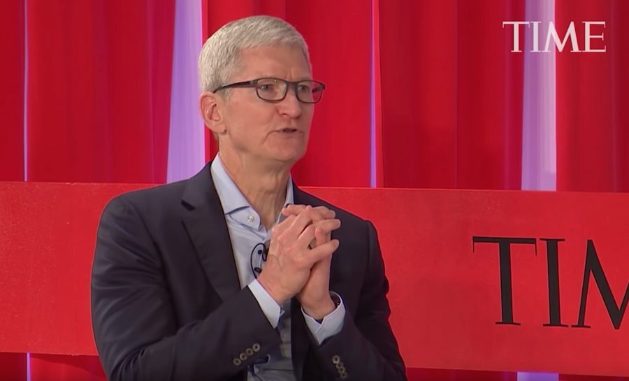 Tim Cook at the TIME 100 Summit