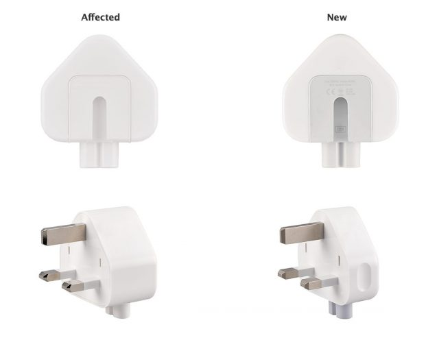 A visual guide to the recalled adapters.