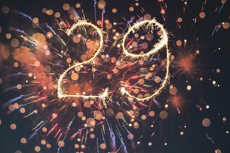 #29 over bokeh fireworks