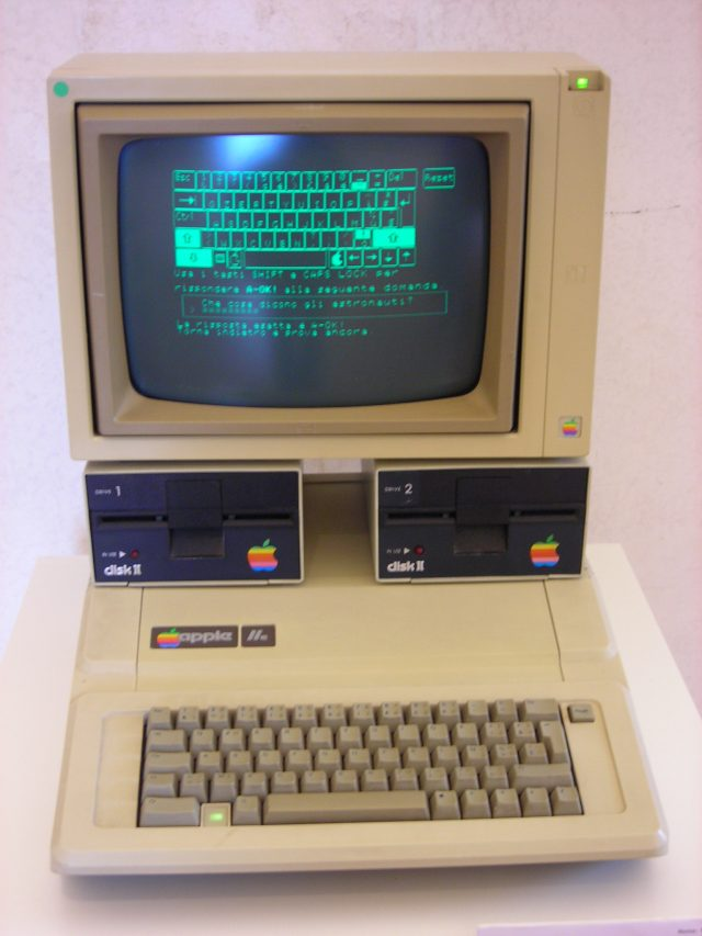 Photo of an Apple IIe