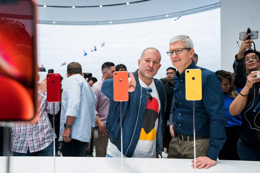 Jony Ive with Tim Cook