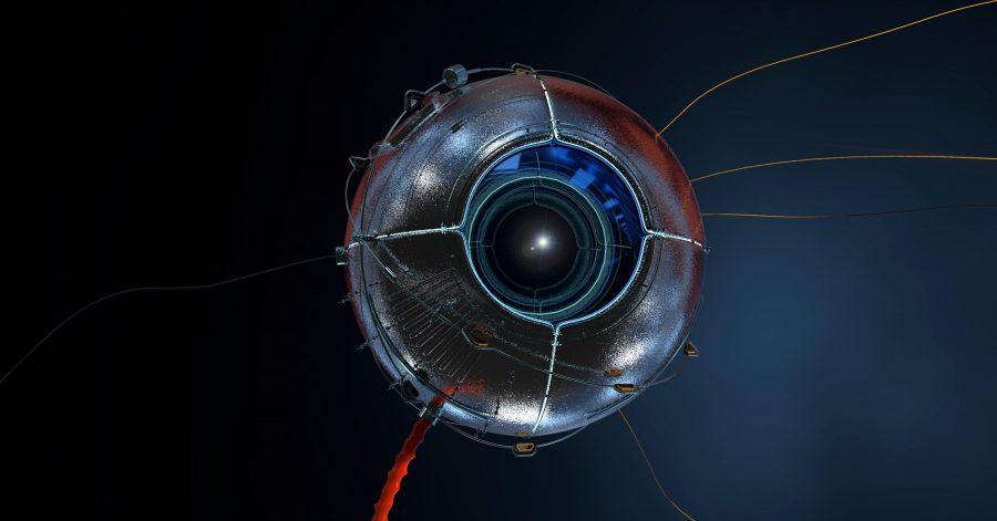 Robotic eye photo