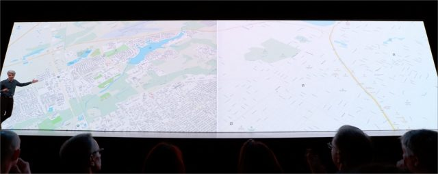 Before and after Apple's new Maps effort