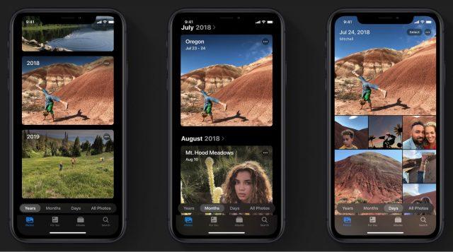 Photos in iOS 13