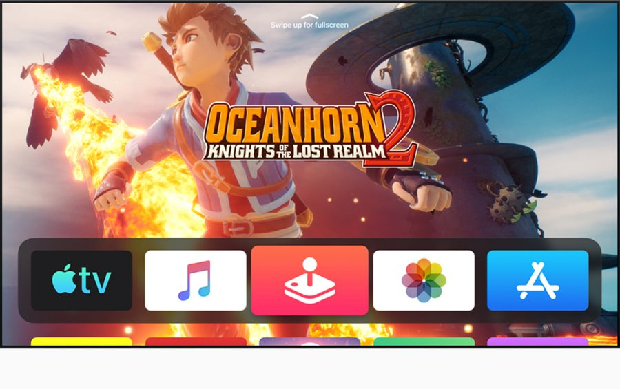 Apple Arcade on the tvOS Home screen