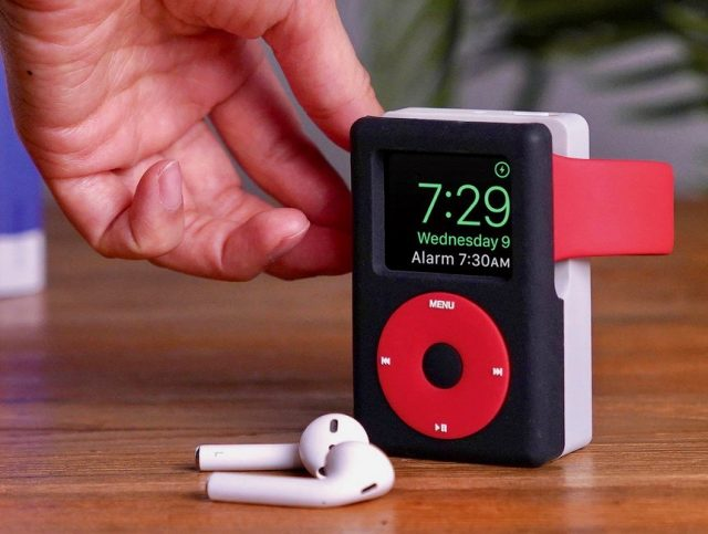 iPod Apple Watch stand