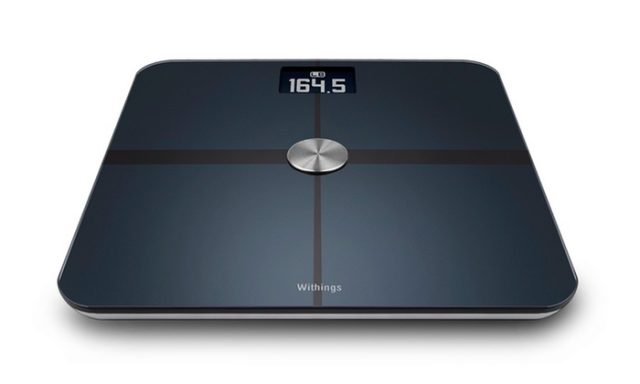 A picture of the Withings digital scale