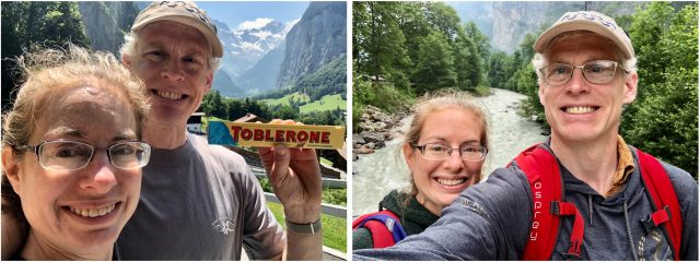 Adam & Tonya Engst in Switzerland
