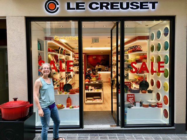 Photo of a Le Creuset store in Lucerne