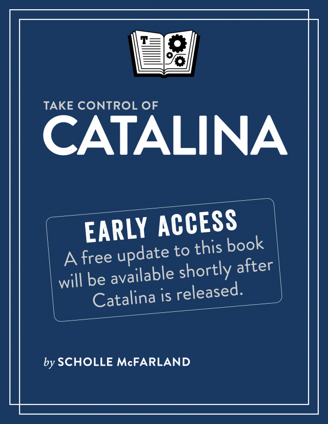 Take Control of Catalina book cover