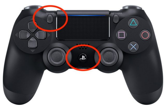 Pairing a PS4 controller