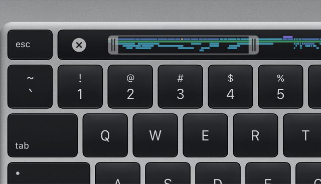 The Esc key in the 16-inch MacBook Pro