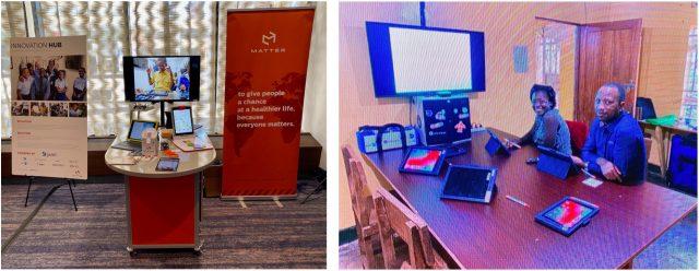 Foto's van het Innovation Station