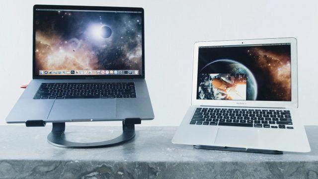 Luna Mac-to-Mac mode in action