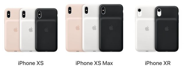 The iPhone XS, XS Max, and XR Smart Battery Cases