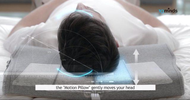 Motion Pillow snurkstopmiddel
