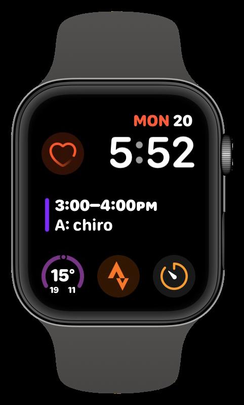 Infograph Modular watchOS 6 face