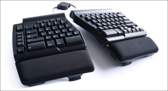Programmeerbare Ergo Pro, een toetsenbord van Matias