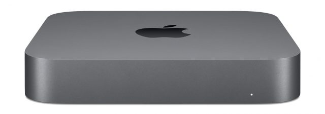 Mac mini top down
