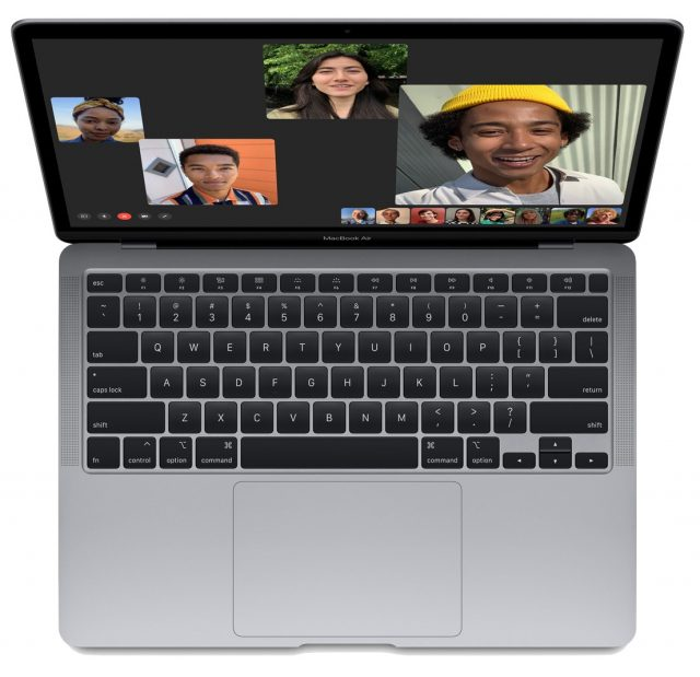 MacBook Air with Magic Keyboard
