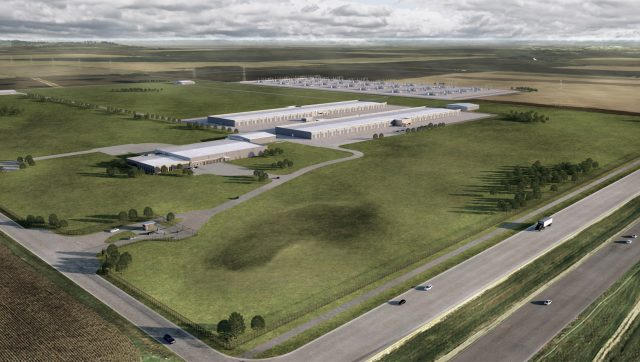Apple's Iowa datacenter
