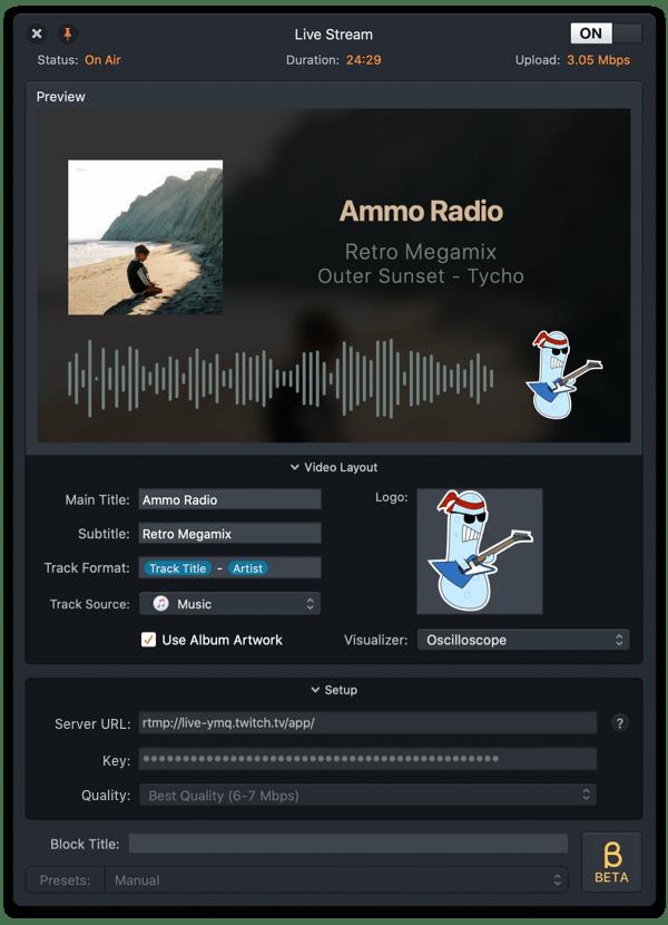 Audio Hijack 3.7 Live Stream