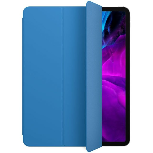 An iPad Pro with a case