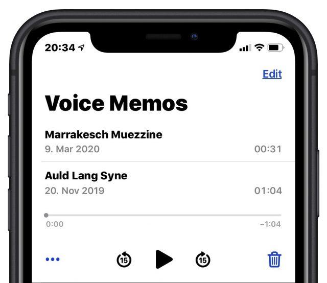 Voice Memos