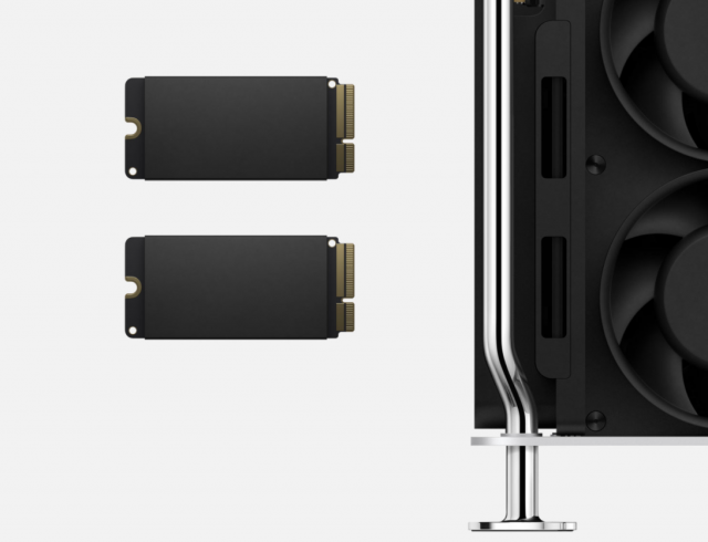 SSD modules for the Mac Pro