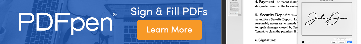 PDFpen: Sign & Fill PDFs