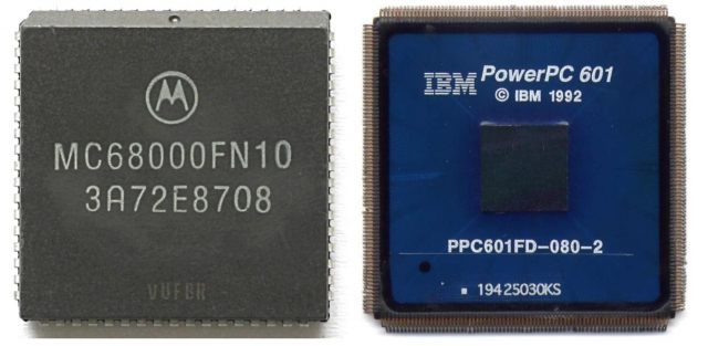 Motorola processors