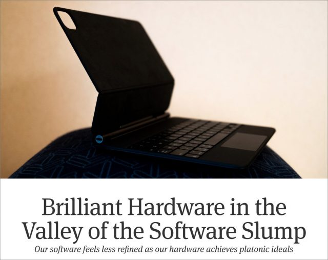 Software Slump headline
