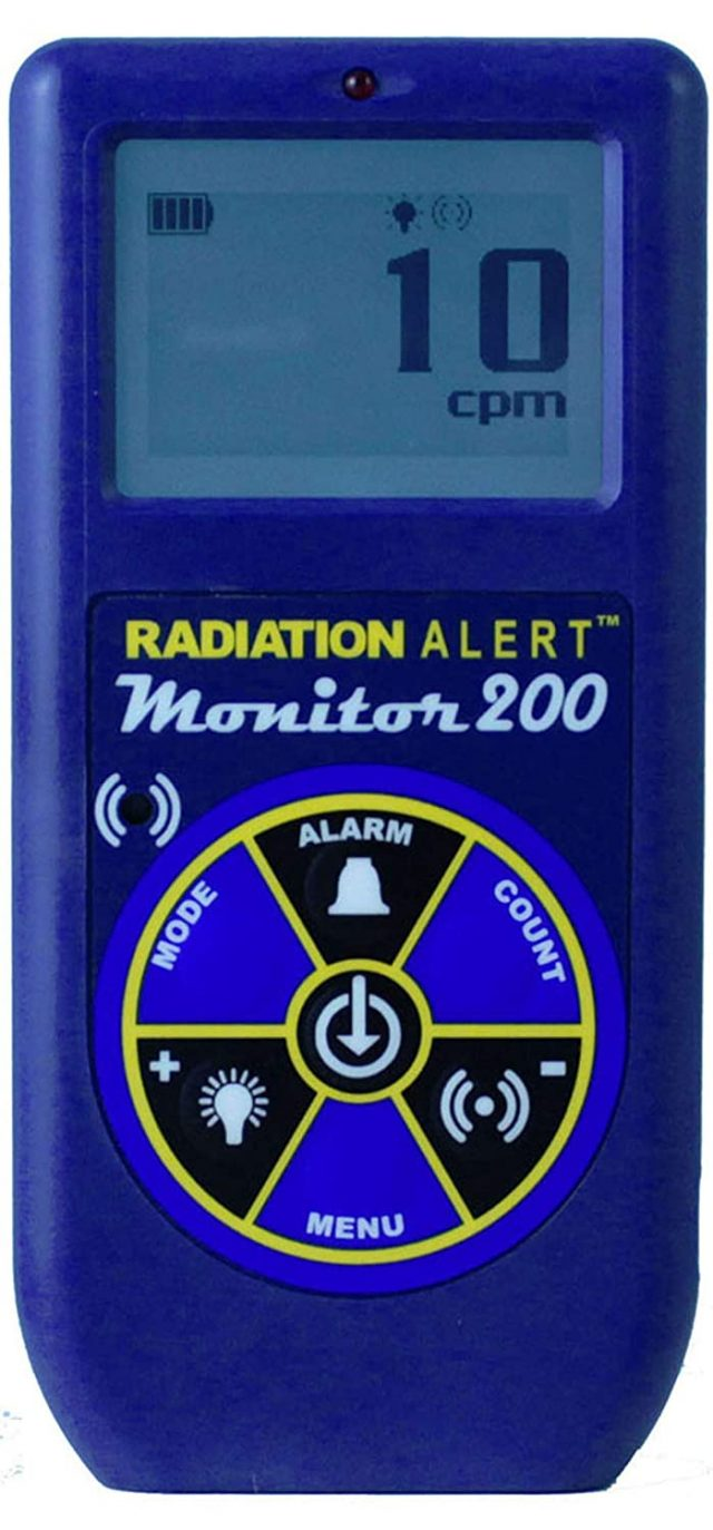 Radiation Alert geiger counter