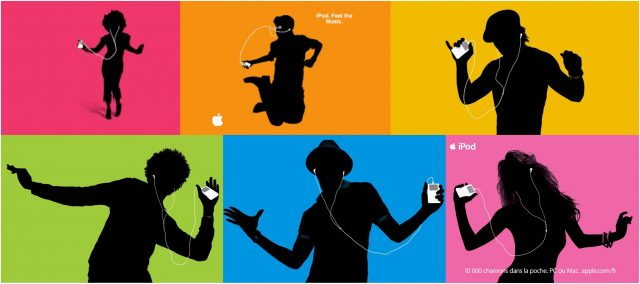 Apple Silhouettes ads