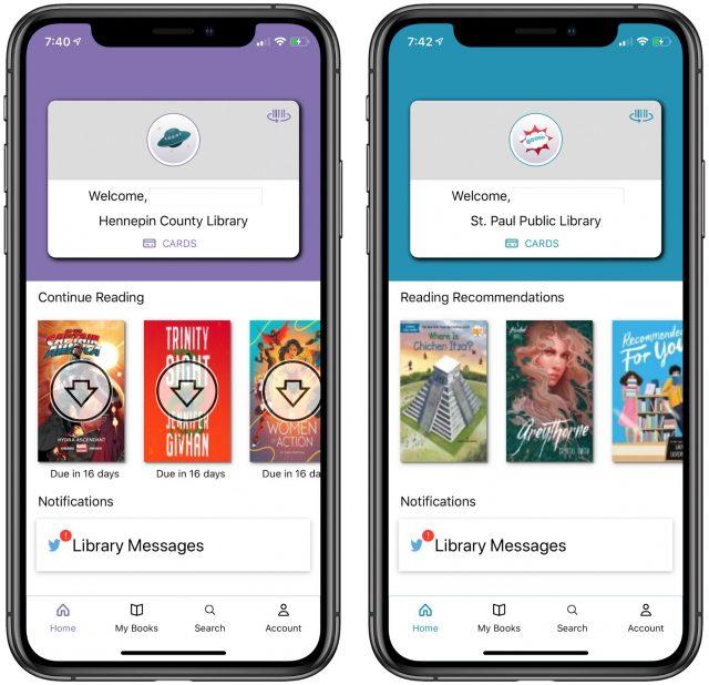 Cloud Library iOS app