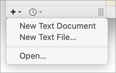 BBEdit 13.5's new commands for adding file to the sidebar