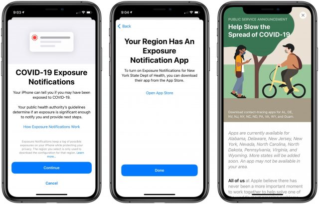 Getting started with configuring Exposure Notifications in iOS