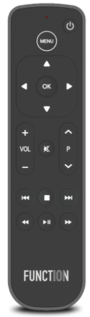 The Function 101 remote