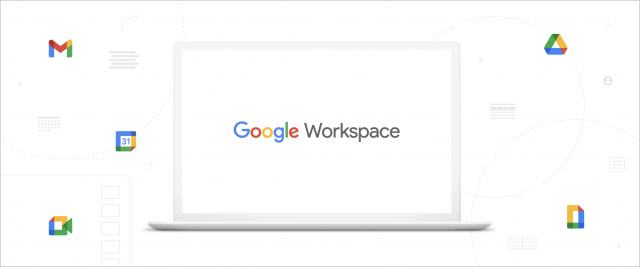 Google Workspace splash screen