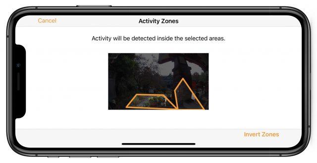Activity Zones in Home