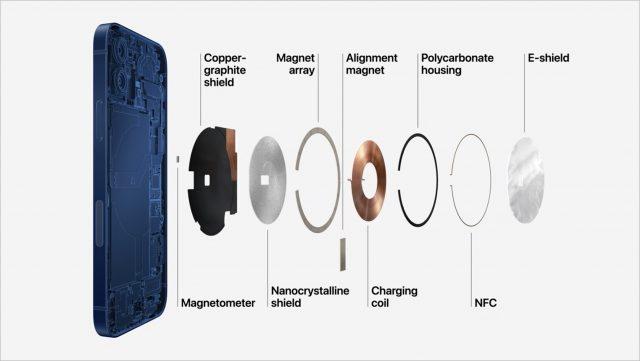 MagSafe charging parts