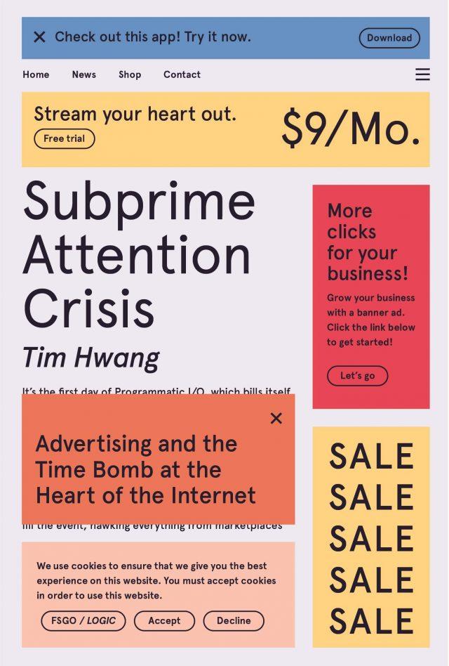 Subprime Attention Crisis book cover