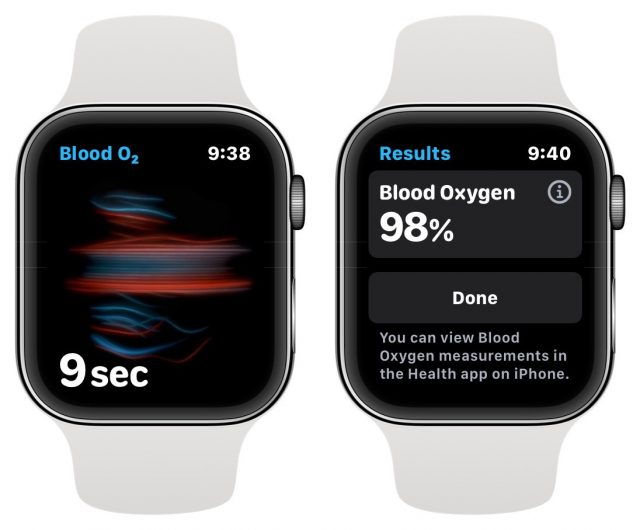 Blood Oxygen on the Apple Watch