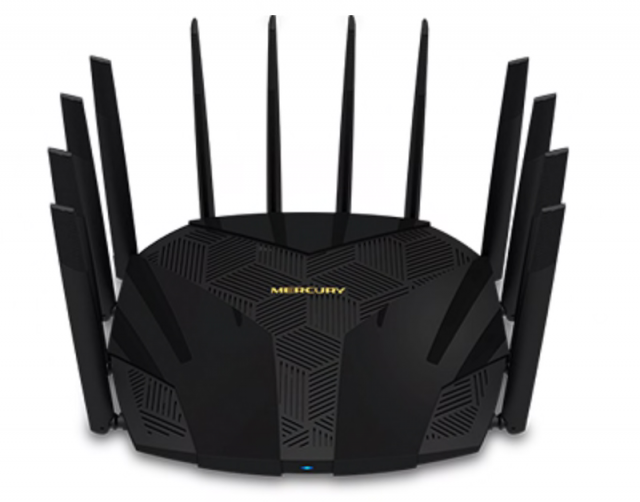 Wi-Fi router with multiple antennas