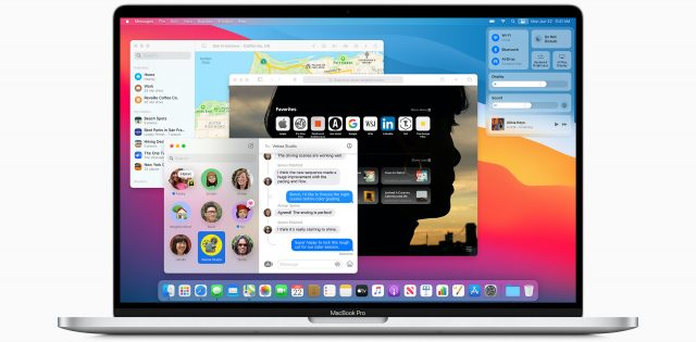 Big Sur on a MacBook Pro