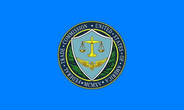 De vlag van de FTC