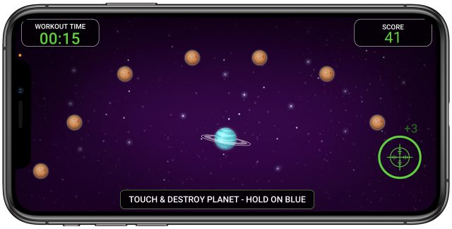 Stealth Fitness game Galaxy Adventure