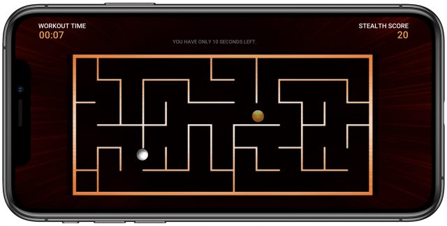 Stealth Fitness game Mighty Maze